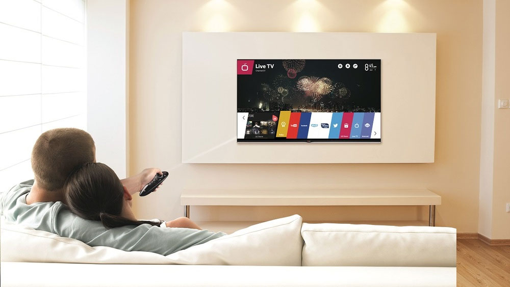 LG's new webOS TVs are now in stores