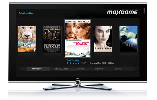 Maxdome on Loewe Smart TV