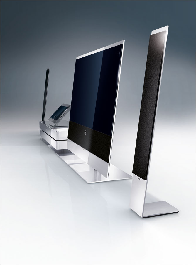 loewe to introduce larger tvs with led in 2010 flatpanelshd. Black Bedroom Furniture Sets. Home Design Ideas