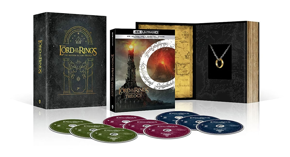 Lord of the Rings UHD Blu-ray