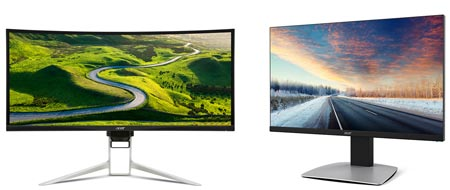 Acer 2016 monitors