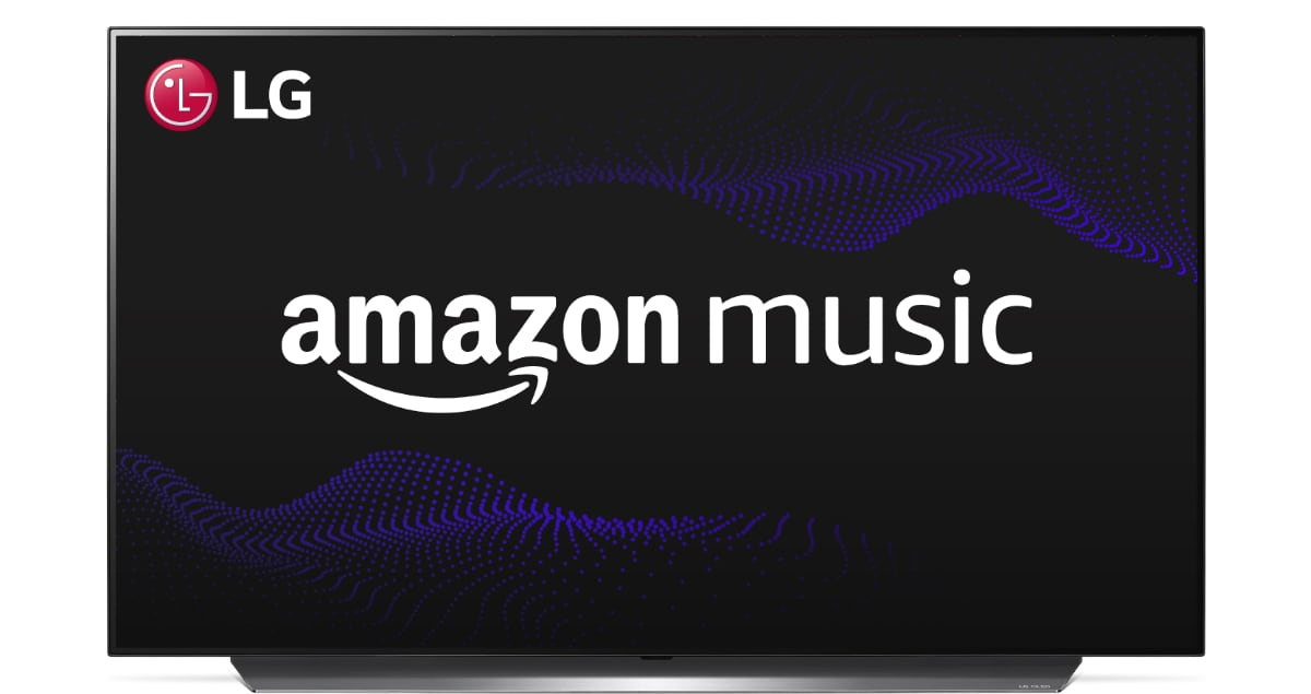 Amazon Music LG TV