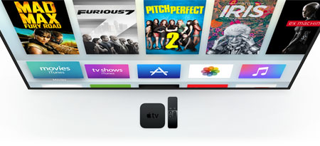 Apple TV with App Store