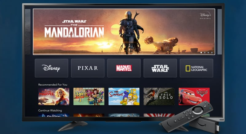 Disney+ on Fire TV