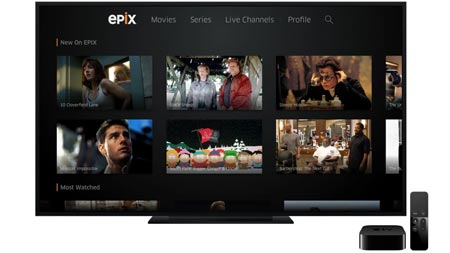 Epix Apple TV 4K
