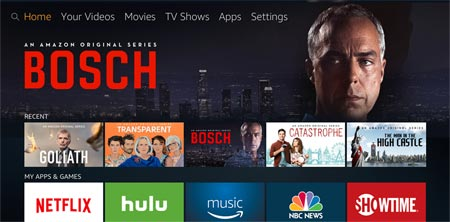 Fire TV new UI