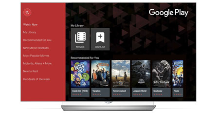 Google Play Movies on LG TV