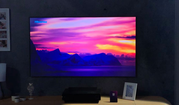 Best Lcd Tv 2020 Hisense shows off 'Laser TV' with 97% Rec.2020 & dual LCD display