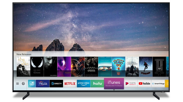 iTunes on Samsung TV