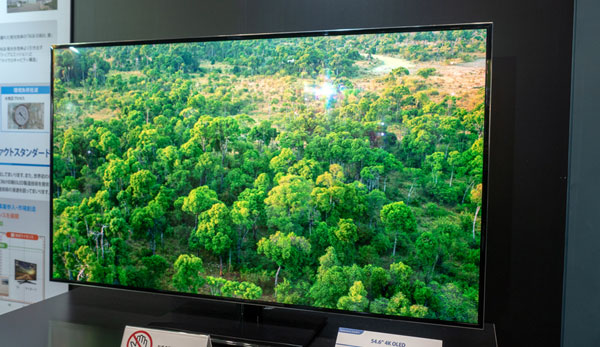 Japan OLED shows off printed OLED TV & monitor panels