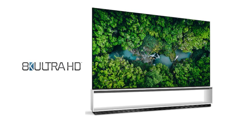 LG 8K Ultra HD certification