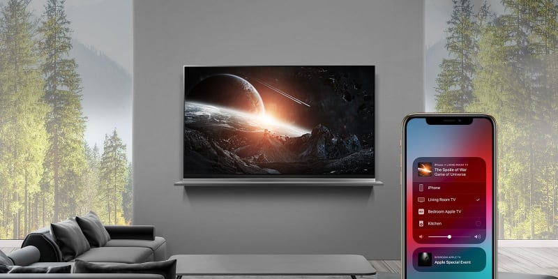 LG AirPlay 2 TV