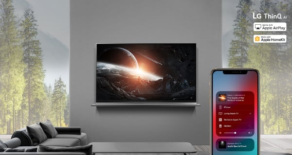LG AirPlay 2 and HomeKit
