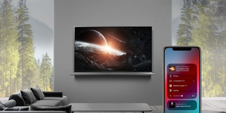 LG TV - AirPlay 2