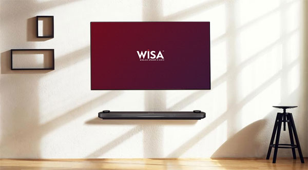 LG OLED WiSA wireless audio
