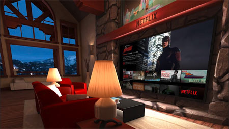 Netflix in virtual reality