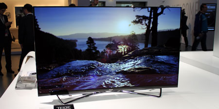 Panasonic OLED hands-on