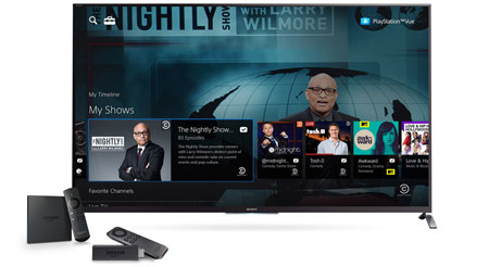 PlayStation Vue on Fire TV
