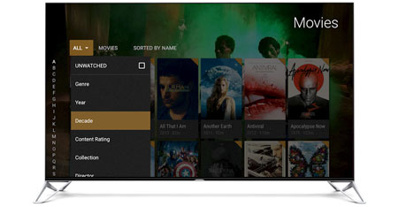 Plex on Android TV