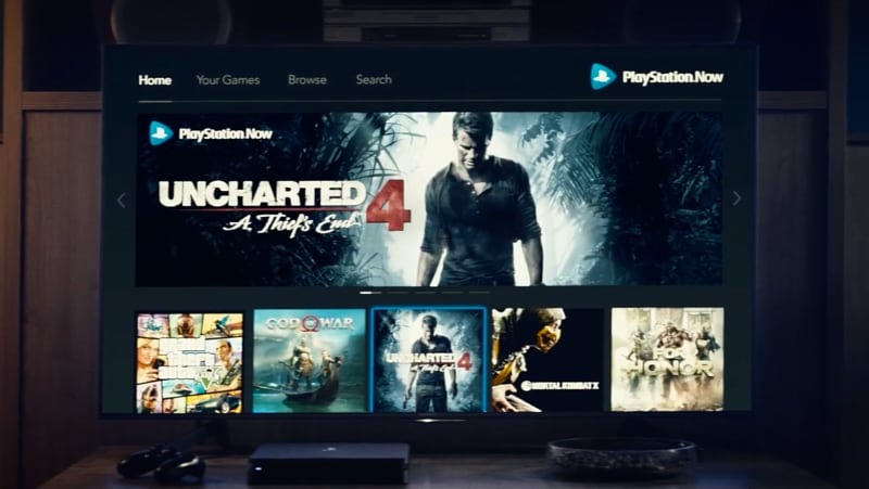 PlayStation Now Uncharted 4