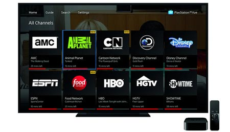 PS Vue on Apple TV