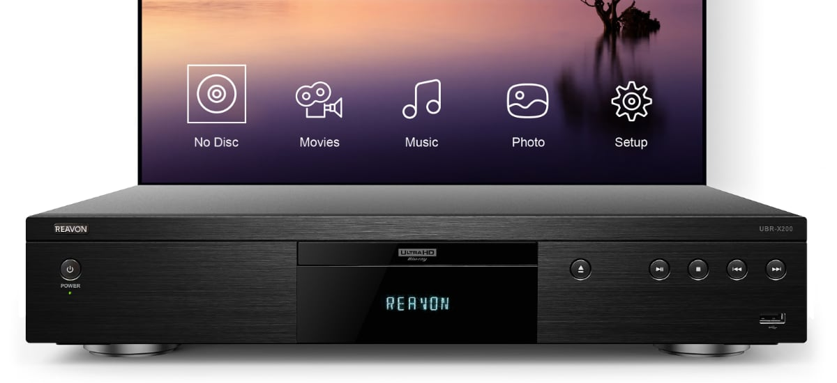 Reavon UHD Blu-ray players