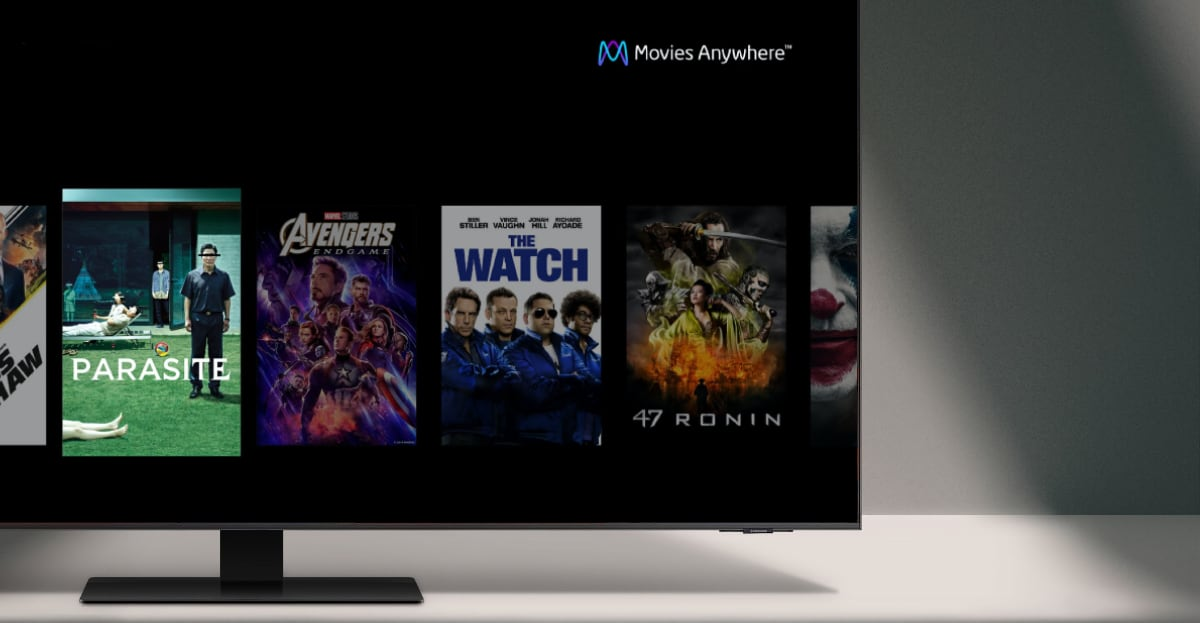 Movies Anywhere Samsung