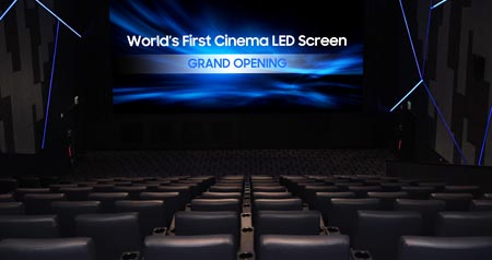Samsung LED cinema