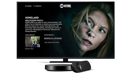 Showtime on Android TV