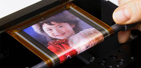 Rollable OLED