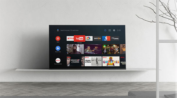 Sony starts rolling out Android 8 Oreo TV update in Europe
