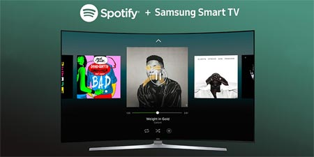 Spotify Samsung Smart TV