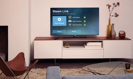Steam Link app launches on Android TV, supports 4K60