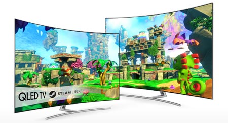 Steam Samsung TV