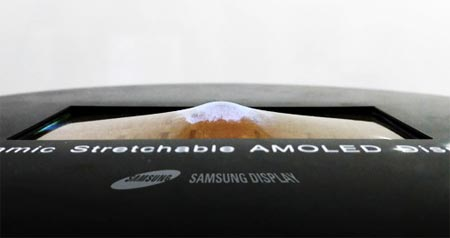 Stretchable OLED