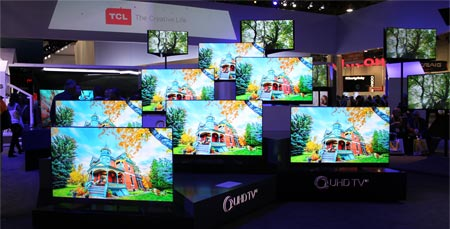 TCL developing 'H-QLED' display technology - hybrid QLED