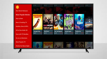 Google Play Movies Vizio