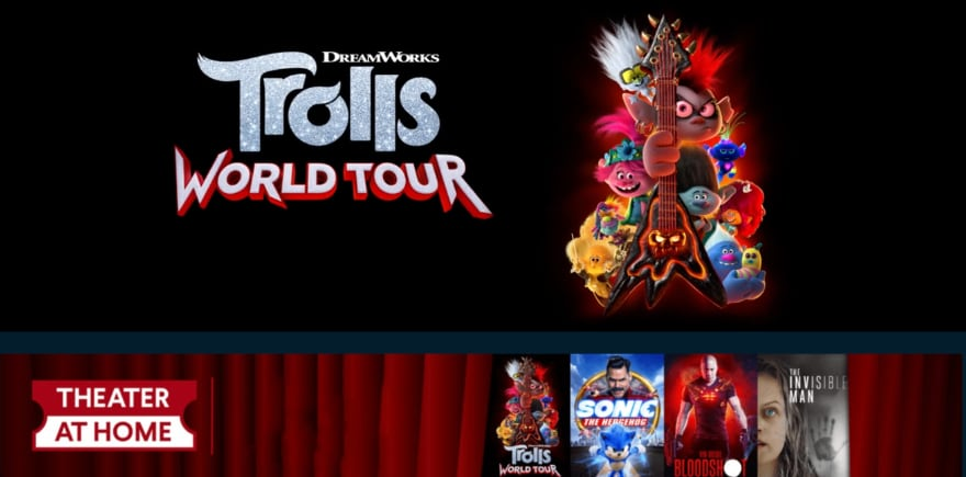 Trolls World Tour Vudu