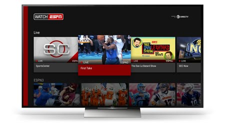 WatchESPN Android TV