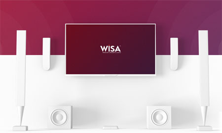 WISA wireless audio