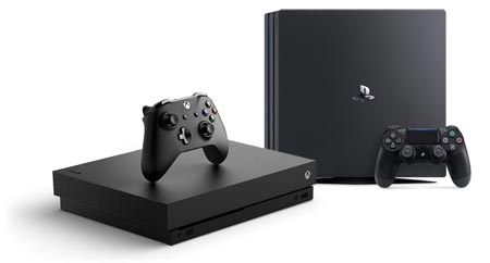Xbox One X vs. PS4 Pro