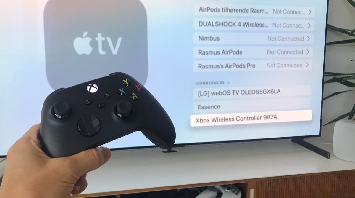 Xbox Series X Apple TV
