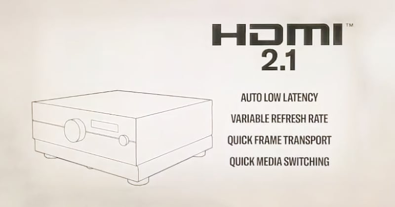 Yamaha HDMI 2.1 receivers