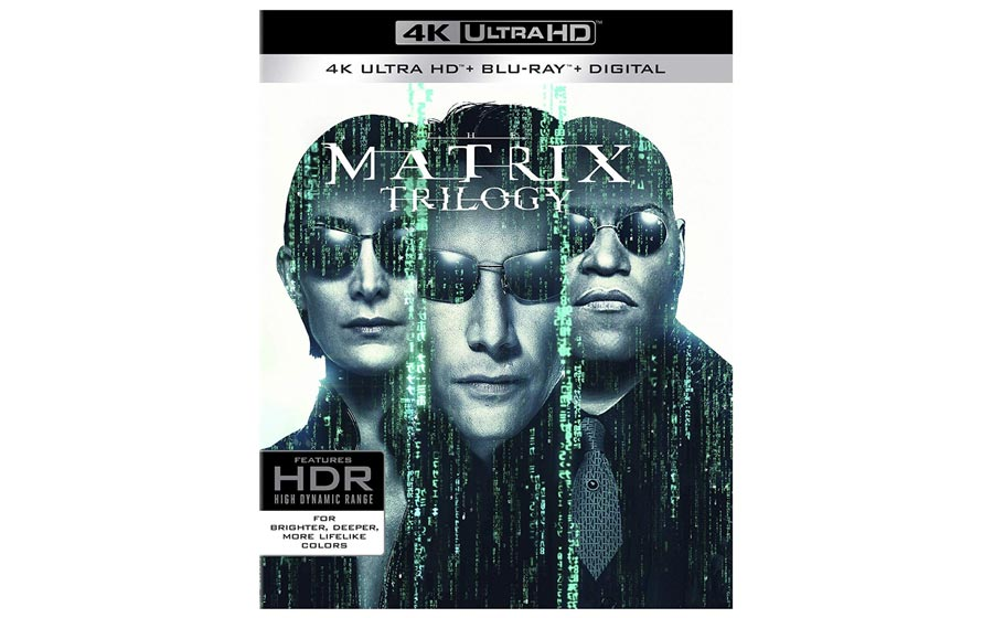 The Matrix Trilogy UHD Blu-ray