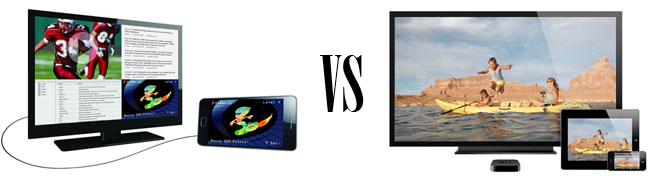 MHL vs. AirPlay