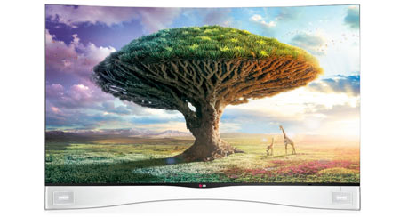 LG 75 and 47-inch OLED TVs