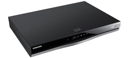 Samsung BD-E8900 with 1 TB hard drive