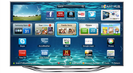 Samsung 2012 TV line-up
