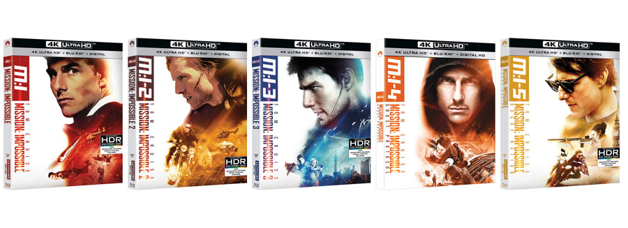 Mission Impossible UHD Blu-ray