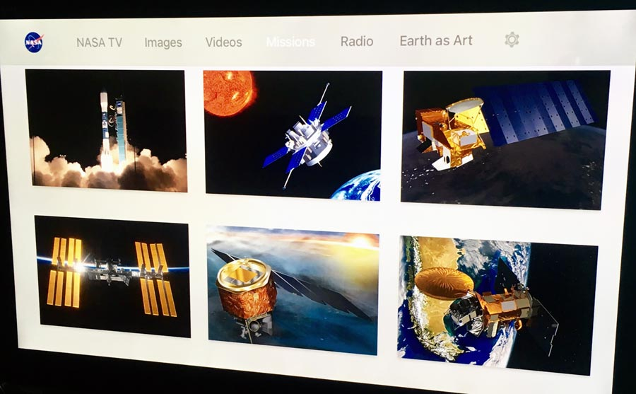 NASA on Apple TV